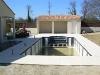 Réalisation d'une piscine, mur de cloture et local technique - Beaulieu sous la Roche
