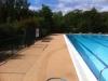 Réhabilitation de la terrasse de la piscine municipale en béton poreux - Mareuil Sur Lay (2/2)