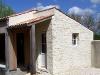 Extension maison - Lairoux - Mur parement pierre et enduit pierre vue